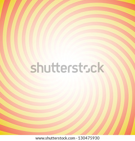 Spiral striped background - stock vector