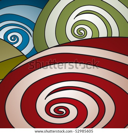 spirals background