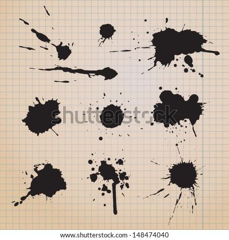 splatter paint; splatter paint; splatter paint; splatter paint; splatter paint; splatter paint; splatter paint; splatter paint; splatter paint; splatter paint; splatter paint; splatter paint; paint - stock vector