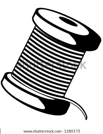 stock vector spool of thread 1280173 wire spools for free 2 on wire spools for free