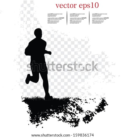 Sport background. Vector - stock vector