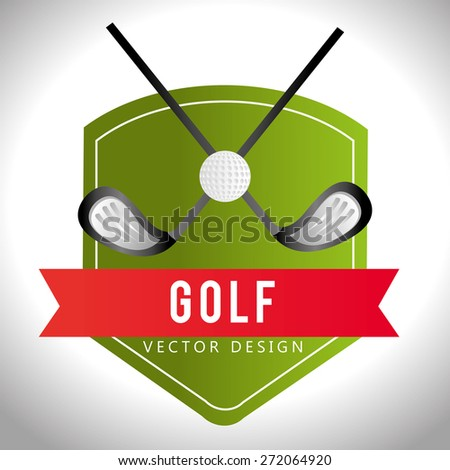 Sport design over white background, vector illustration.