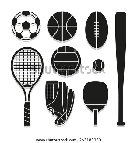 sport icon great for any use. Vector EPS10. - stock vector