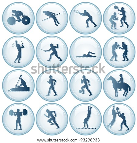 Sport Icons Vector Set #2