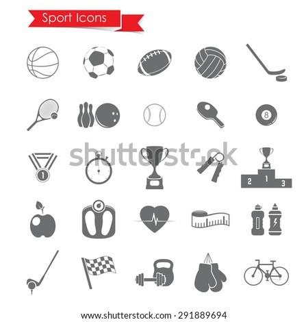 Sport iconsSport icons - stock vector