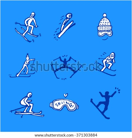 Sport illustration - vector / sports poster background
