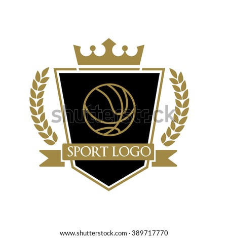 Sport Logo Template. Vector logo - stock vector