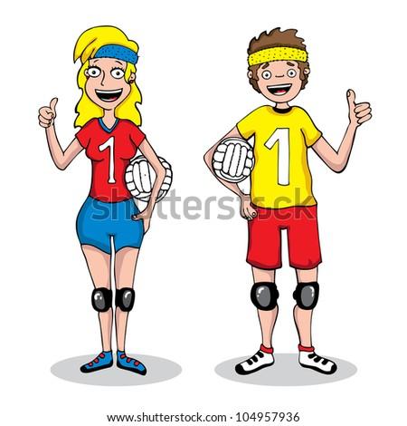 Sport Volleyball Vector de stock104957936: Shutterstock