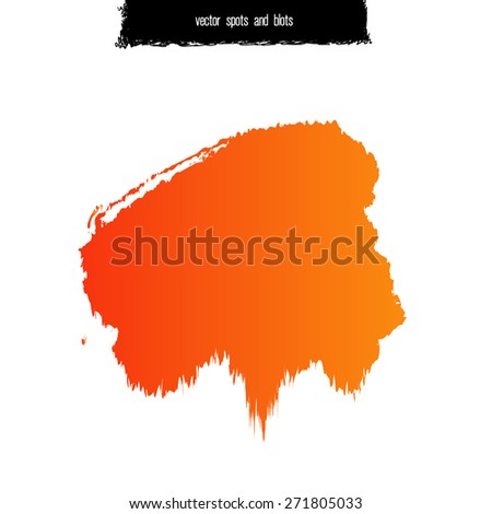 Spot and blot vector illustration