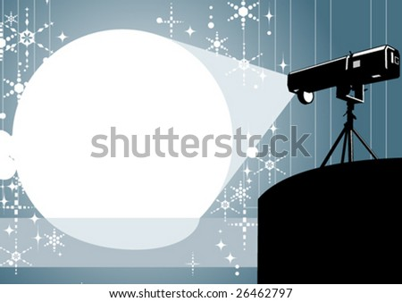 Spotlight - stock vector