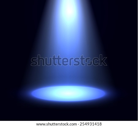 Spotlight background. Vector eps10. - stock vector