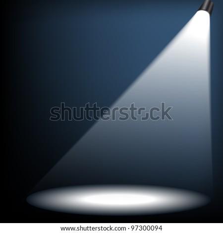 spotlight. eps 10 - stock vector