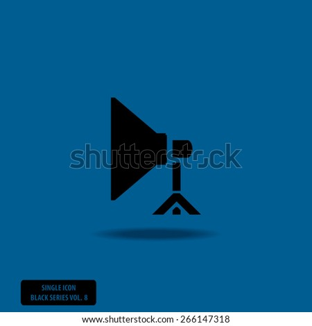 Spotlight - Single Icon Series vol. 8 - stock vector
