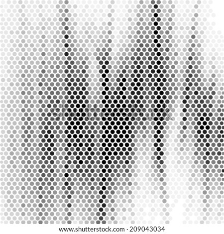Spotted abstract background halftone effect. Vector illustration - stock vector