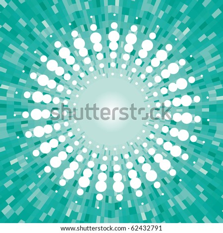 spotted flash - stock vector
