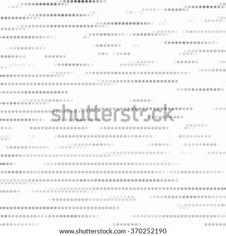 Spotted grunge grid line black and white texture. Ink grunge brush. Vector illustration background
