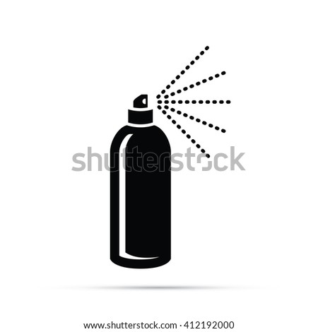 Spray Can / Hairspray Icon - stock vector