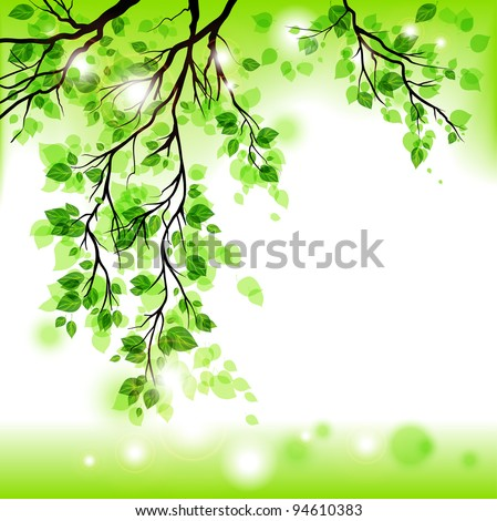 Spring background eps 10 - stock vector