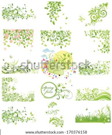 Spring blossom - stock vector