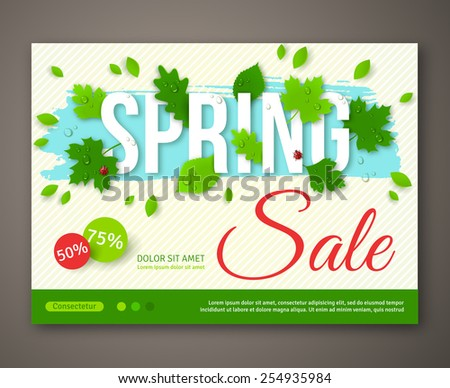 kotoffeis Sale set on Shutterstock – Sale Flyer Design