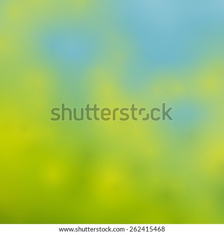 Spring vector background - stock vector