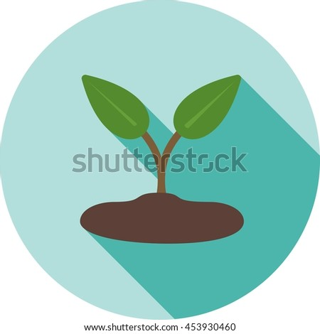 Sprout - stock vector