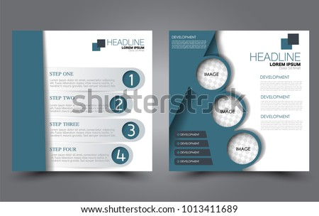 Square Flyer Template Simple Brochure Design Stock Vector 1013411689