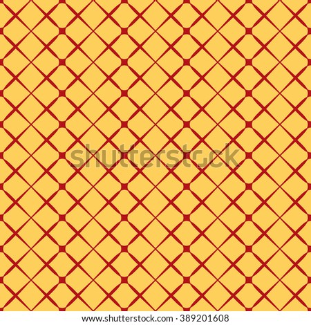 Square geometric seamless pattern. Fashion graphic background design. Modern stylish abstract texture Colorful template for prints, textiles, wrapping, wallpaper, website etc. VECTOR illustration - stock vector