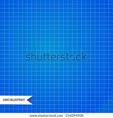 Square grid background. Vector illustration - stock vector