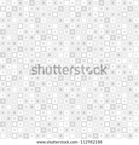 Square pattern,seamless. Vector. - stock vector