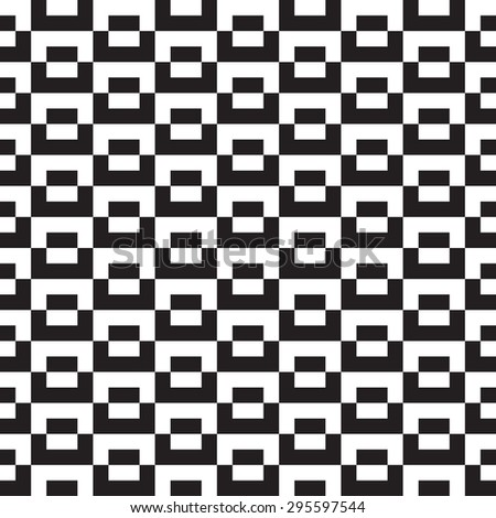 square seamless pattern - stock vector