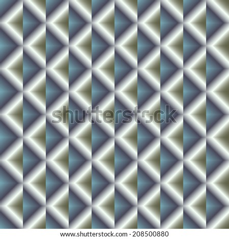 Squares - Multi Gradiets - Blue and Gray 2 - stock vector