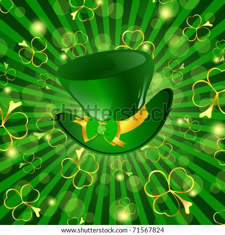 abstract st patrick theme - photo #19