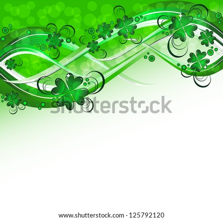 St.Patrick's background - stock vector
