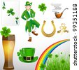 St. Patrick�s Day Holiday Elements - stock vector