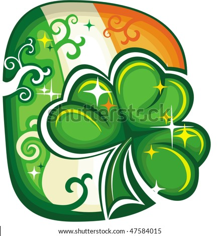 St. Patrick's Day icon series 5 - stock vector