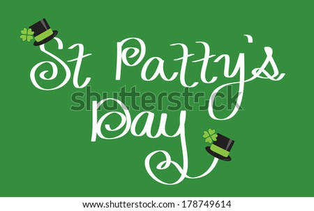 St. Patty's Day - stock vector
