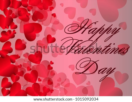 St Valentines Day Abstract Vector Background Stock Vector ...