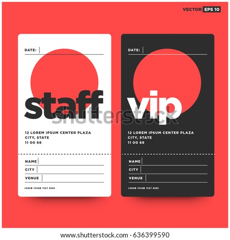 Staff Id Card Design Stock Images RoyaltyFree Images  Vectors
