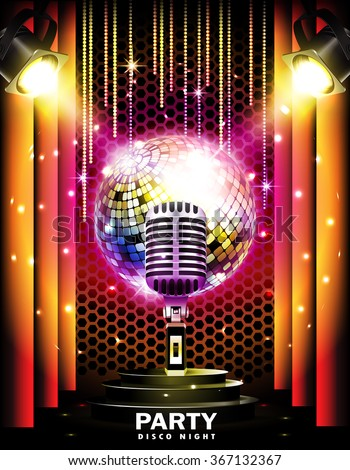Retro Disco Stock Images, Royalty-Free Images & Vectors ...