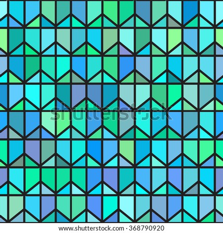 Stained Glass Seamless Pattern Stock Images RoyaltyFree Images