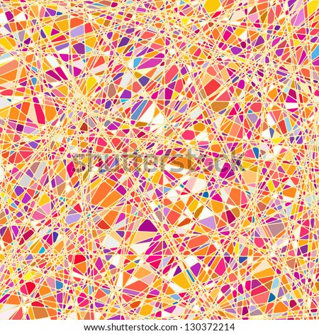 Stained glass texture in a purple tone, different orientation. EPS 8 vector file included - stock vector
