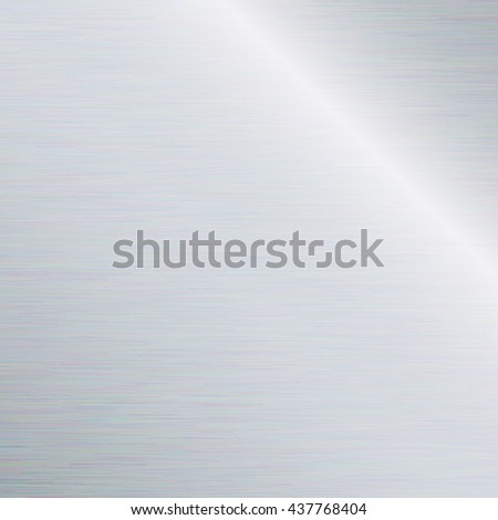 Stainless steel texture or metal texture background. - stock vector