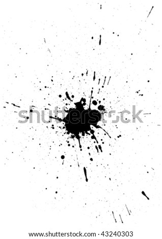 stains and blots - stock vector