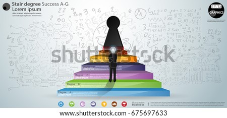Knowledge Is The Key To Success Stock Images Royalty Free