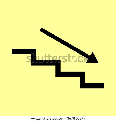 how to draw stairs going down
