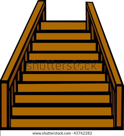 wood handrail stock images  royalty free images   vectors stairs clip art star clipart