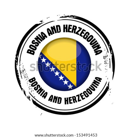 stamp Bosnia and Herzegovina