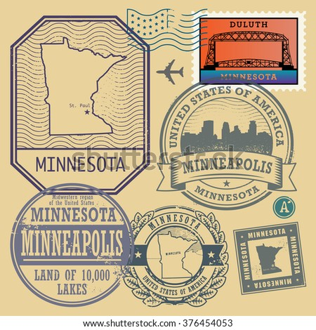 Duluth Minnesota Stock Images RoyaltyFree Images Vectors - Duluth mn us map
