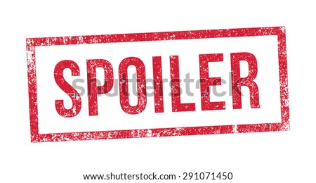 Stamp Spoiler - stock vector
